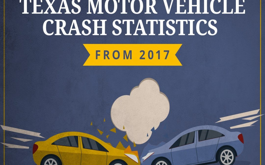 Startling Texas Motor Vehicle Crash Statistics From 2017